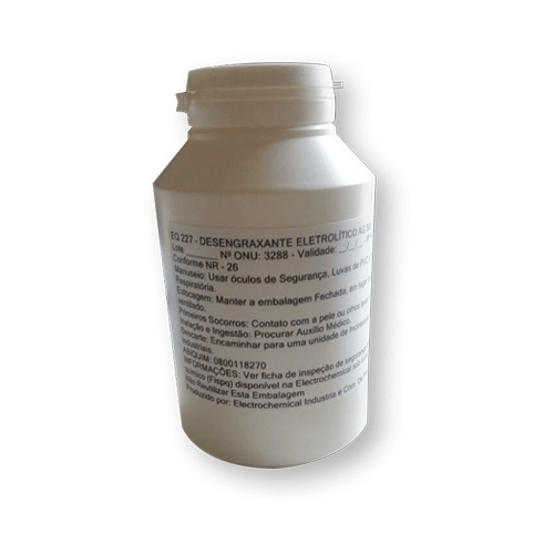 EQ 227 – DESENGRAXANTE ELETROLÍTICO - AG500 - 200g
